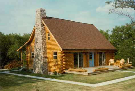 The Willow Plan Picture Stone City Log Homes  Home Details